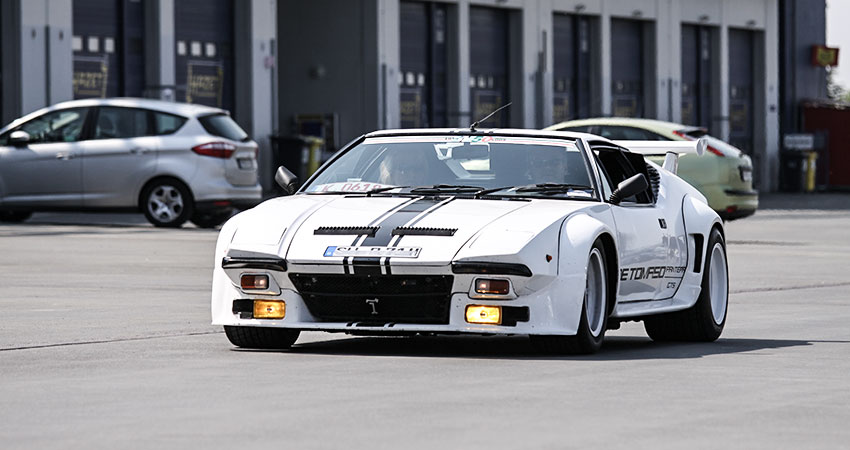 DeTomaso Pantera / Cannoneer Photography